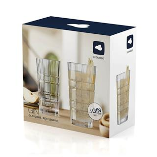 SET 2 KOZARCEV 400ML Gin